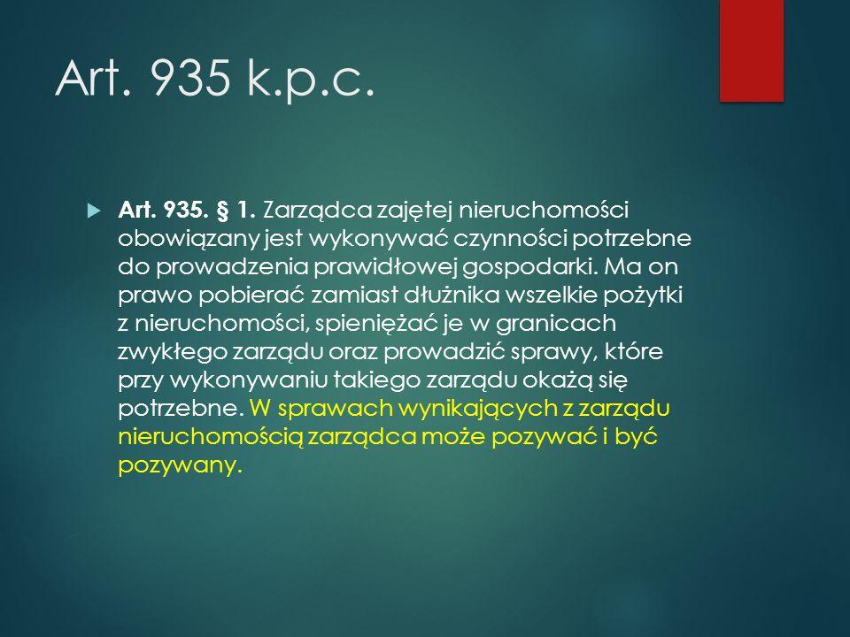 Art.935 k.p.c.  Art. 935. § 1.
