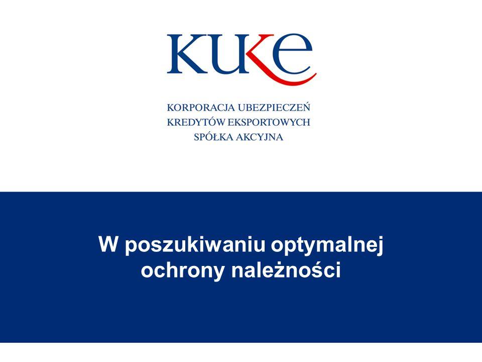 Korporacja Ubezpieczeń Kredytów Eksportowych Spółka Akcyjna2 Polski ubezpieczyciel należności z przeważającym udziałem Skarbu Państwa Kim jesteśmy Bank Gospodarstwa Krajowego Ministerstwo Finansów 36,69% 63,31%