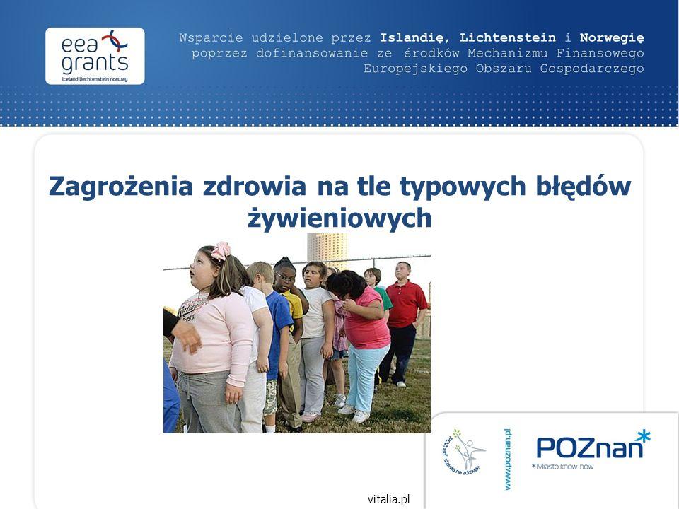 Zagrożenia zdrowia na tle typowych błędów żywieniowych vitalia.pl