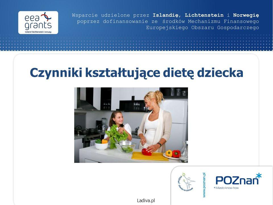 Czynniki kształtujące dietę dziecka Ladiva.pl