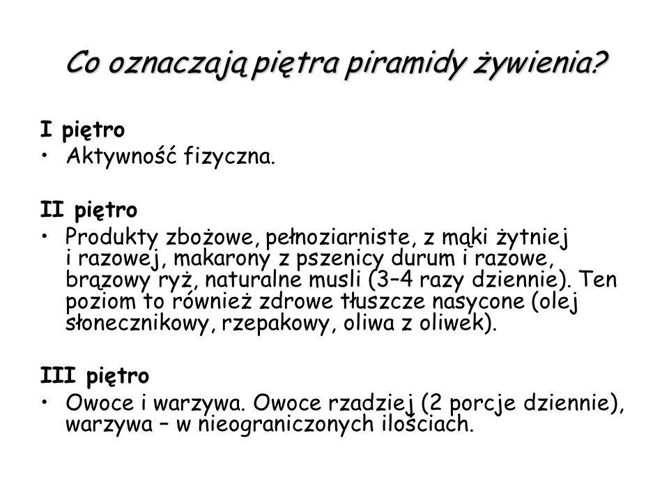 IV piętro.Nasiona i orzechy oraz warzywa strączkowe – groch, fasola, bób, soja, soczewica.