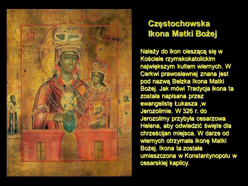 Jerozolimska Ikona Matki Bożej Zgodnie z tradycją została napisana przez ewangelistę Łukasza.