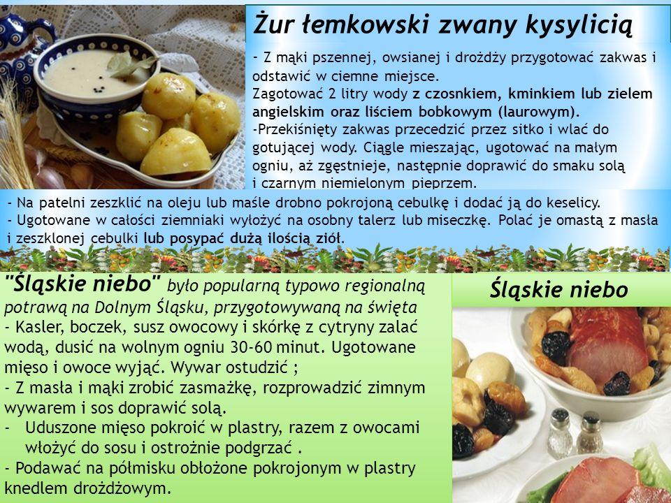 Żur łemkowski zwany kysylicią - Z mąki pszennej, owsianej i drożdży przygotować zakwas i odstawić w ciemne miejsce.