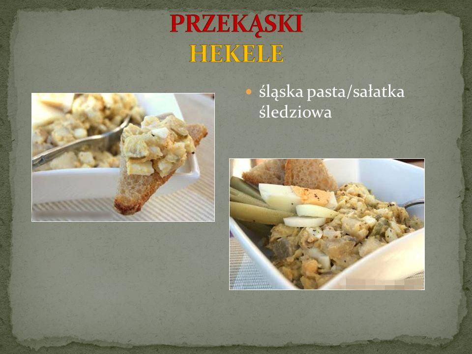 śląska pasta/sałatka śledziowa