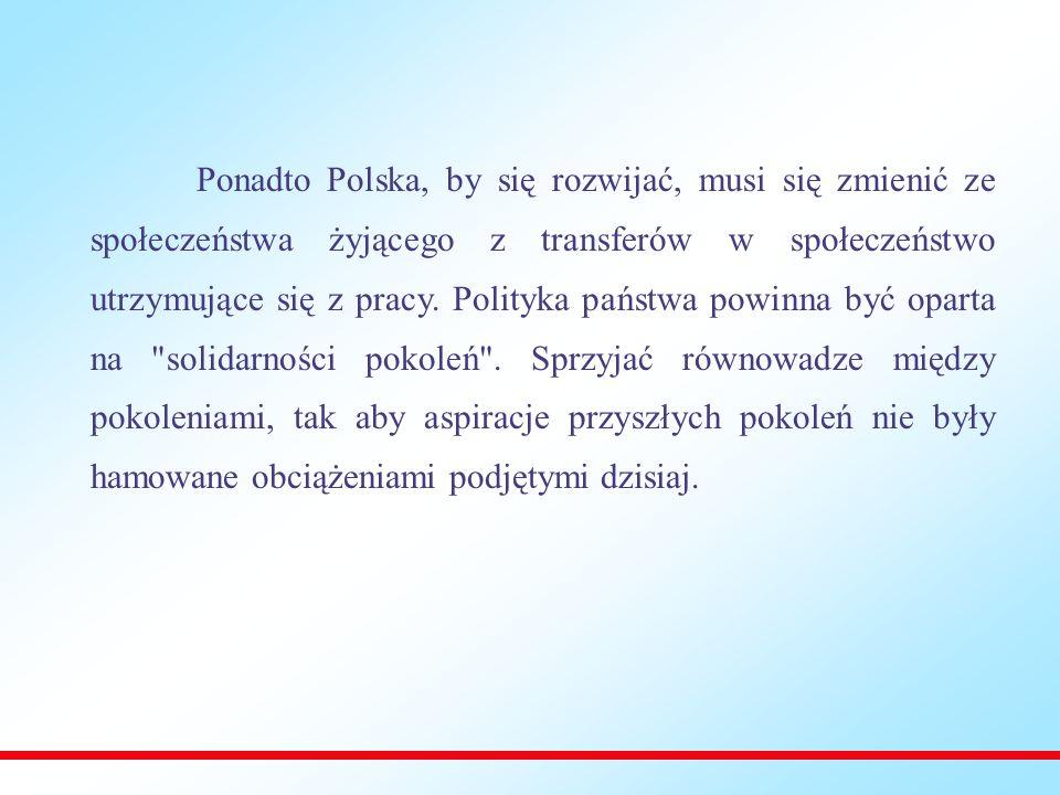 10 kluczowych wyzwań dla Polski: 1.Wzrost i konkurencyjność 2.