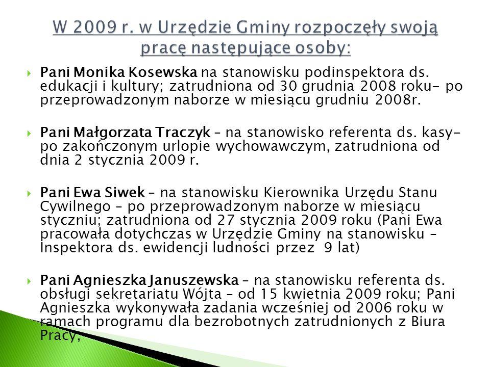  Pani Monika Kosewska na stanowisku podinspektora ds.
