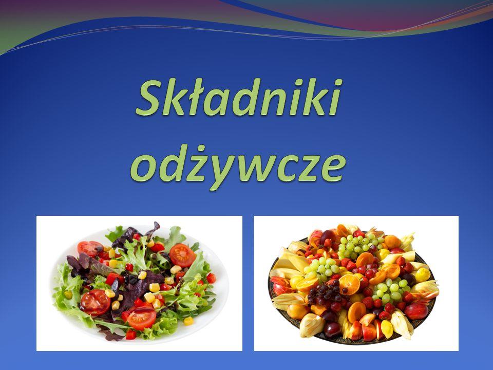 O składnikach odżywczych Składniki odżywcze – substancje chemiczne dostarczane do organizmu przez pokarm, który dostaje się do niego poprzez układ pokarmowy i wydobywane są z niego w procesie trawienia.