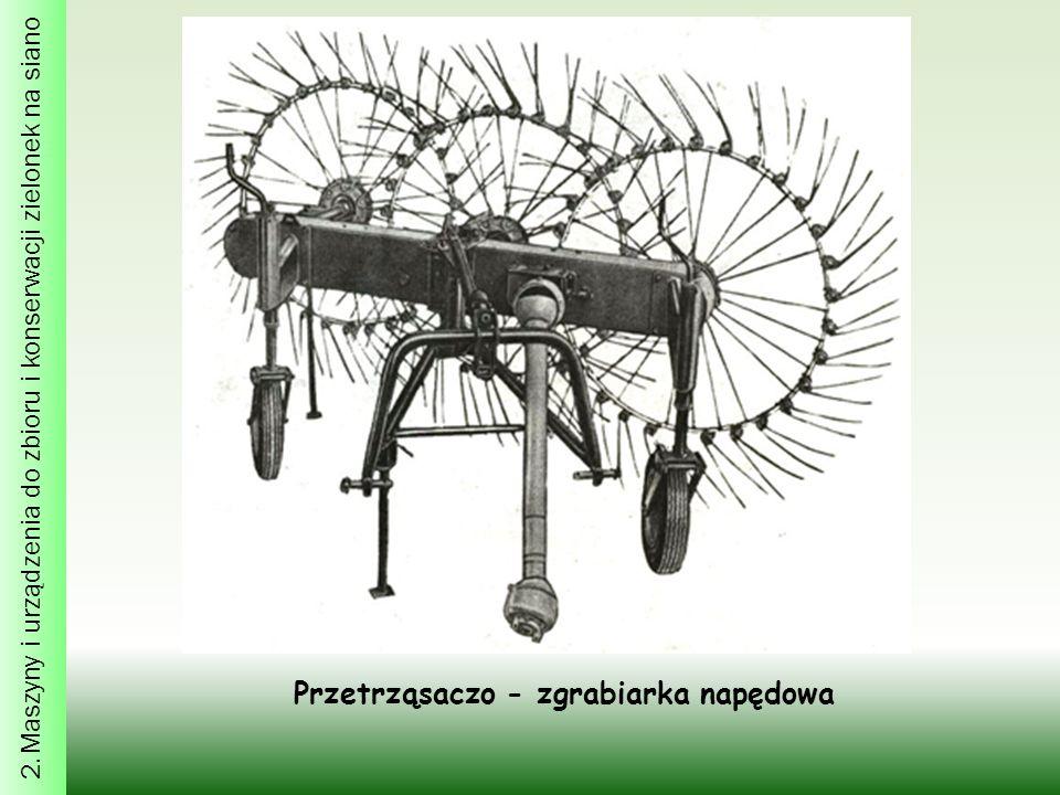 Przetrząsaczo - zgrabiarka napędowa