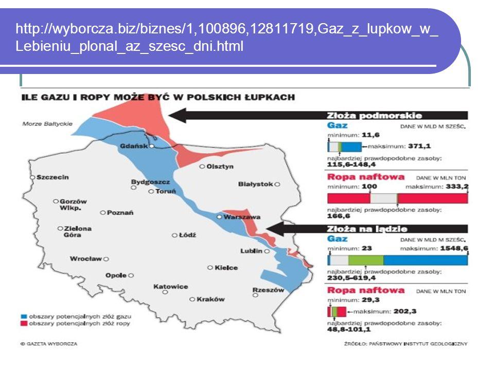 http://wyborcza.biz/biznes/1,100896,12811719,Gaz_z_lupkow_w_ Lebieniu_plonal_az_szesc_dni.html