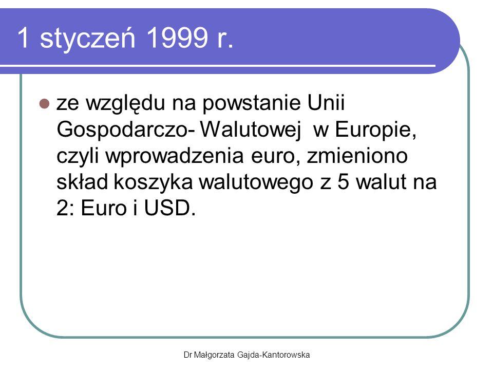 1 styczeń 1999 r.