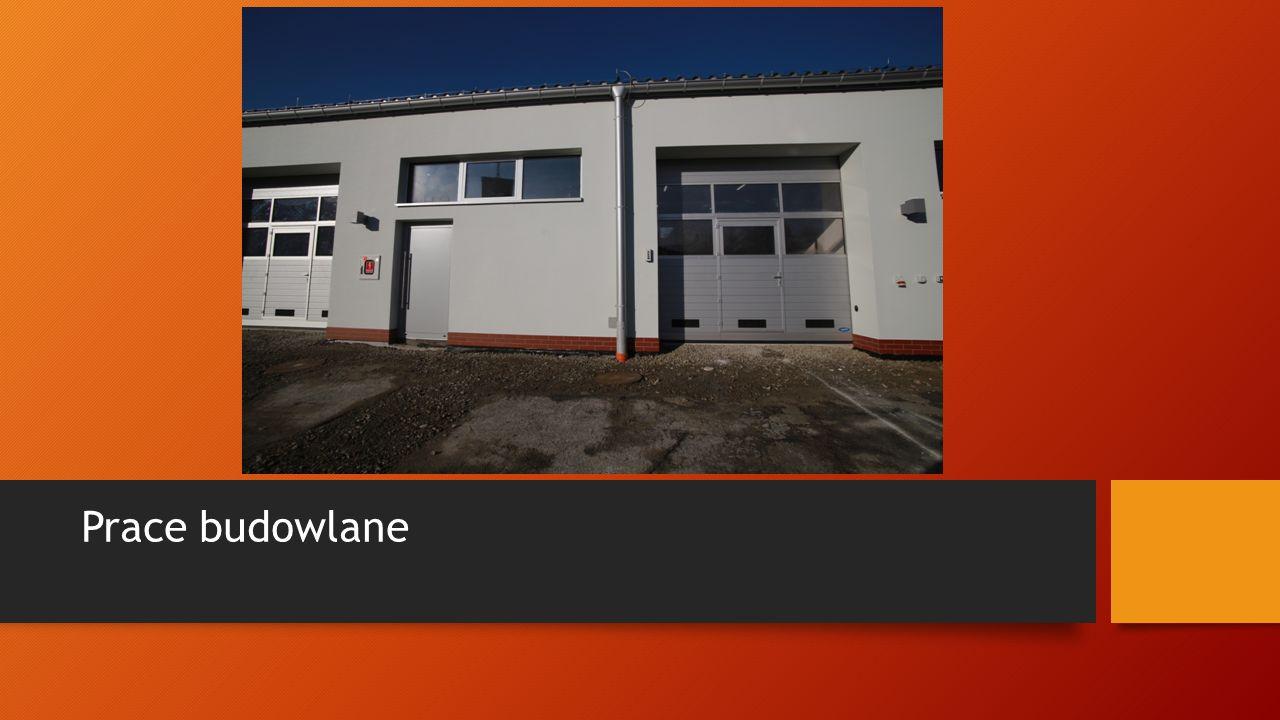 Budynek KP PSP w Bochni po termomodernizacji