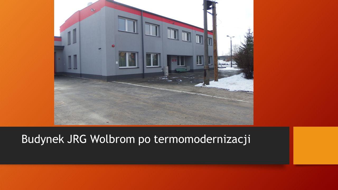 Budynek JRG Wolbrom po termomodernizacji