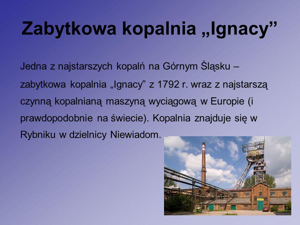 """Zabytkowa kopalnia """"Ignacy Jedna z najstarszych kopalń na Górnym Śląsku – zabytkowa kopalnia """"Ignacy z 1792 r."""