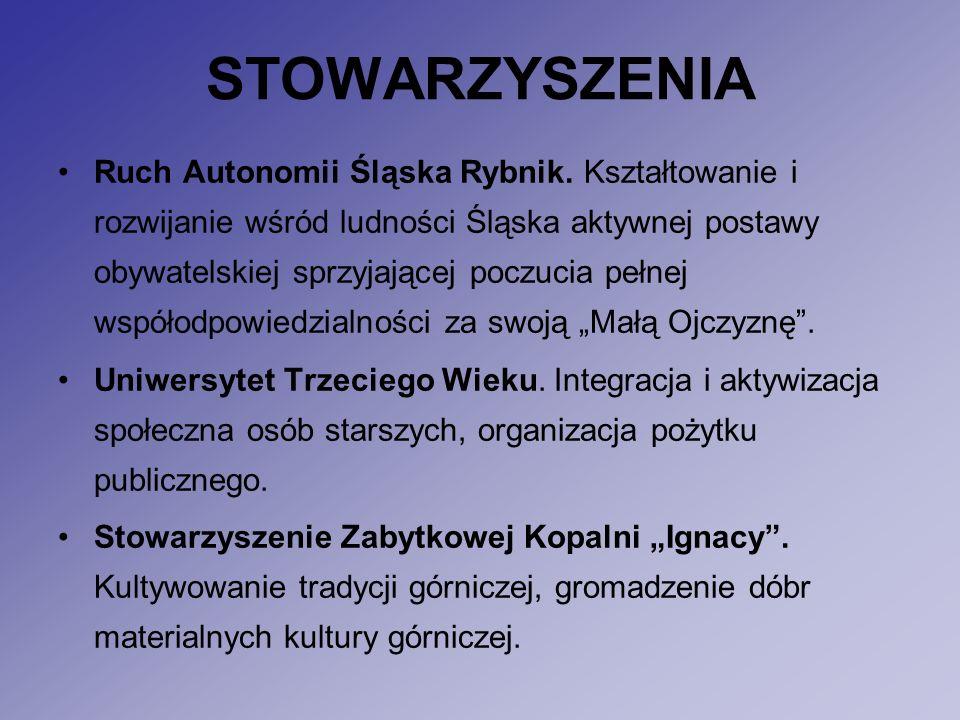 STOWARZYSZENIA Ruch Autonomii Śląska Rybnik.