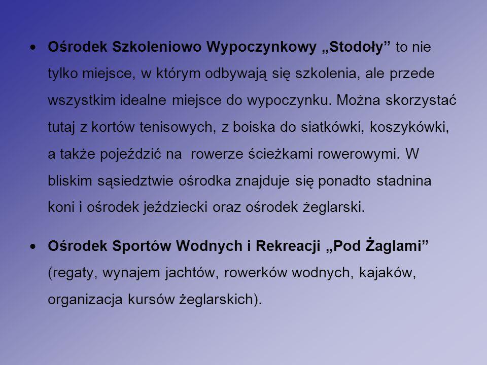 """ Ośrodek Szkoleniowo Wypoczynkowy """"Stodoły to nie tylko miejsce, w którym odbywają się szkolenia, ale przede wszystkim idealne miejsce do wypoczynku."""