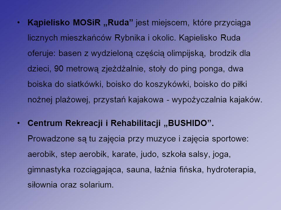 """Kąpielisko MOSiR """"Ruda jest miejscem, które przyciąga licznych mieszkańców Rybnika i okolic."""