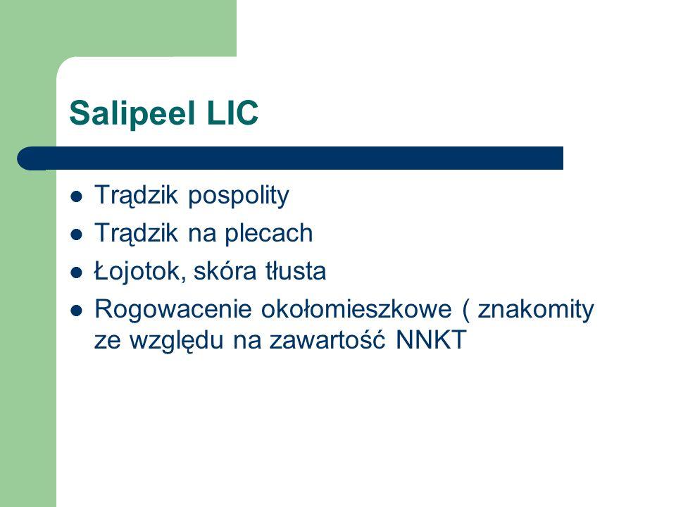 Salipeel LIC Trądzik pospolity Trądzik na plecach Łojotok, skóra tłusta Rogowacenie okołomieszkowe ( znakomity ze względu na zawartość NNKT