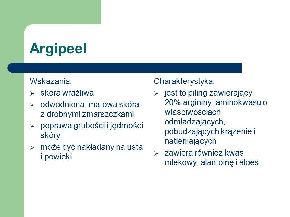 Wskazania:  trądzik Charakterystyka:  zawiera nikotynamid, kwas salicylowy i aloes  przeciwzapalny, zapobiega powstawaniu rumienia, zmniejsza wydzielanie łoju, komedolityczny Przeciwtrądzikowy