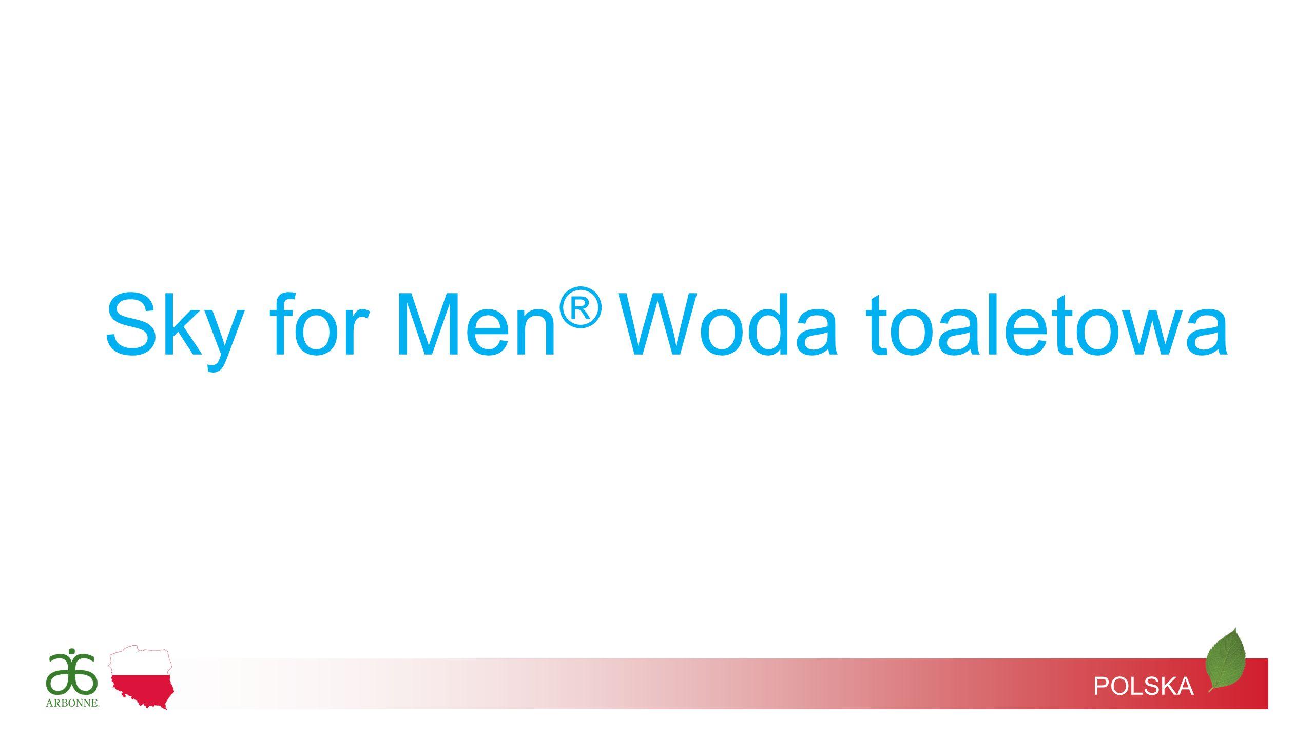 POLSKA Sky for Men ® Woda toaletowa