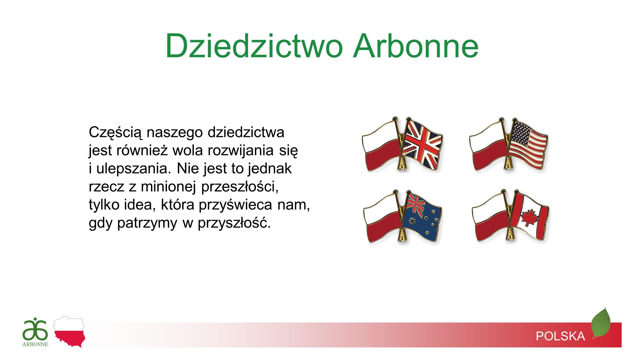 Historia firmy Arbonne 1975: Petter MØrck założył firmę Arbonne w Szwajcarii 1983: Firma Arbonne inauguruje program Dodatek Pieniężny Mercedes-Benz 1980: Firma Arbonne wprowadza na rynek amerykański 19 produktów do pielęgnacji skóry POLSKA