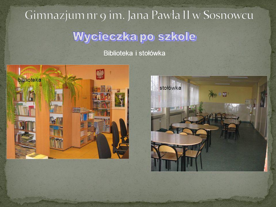 Biblioteka i stołówka biblioteka stołówka