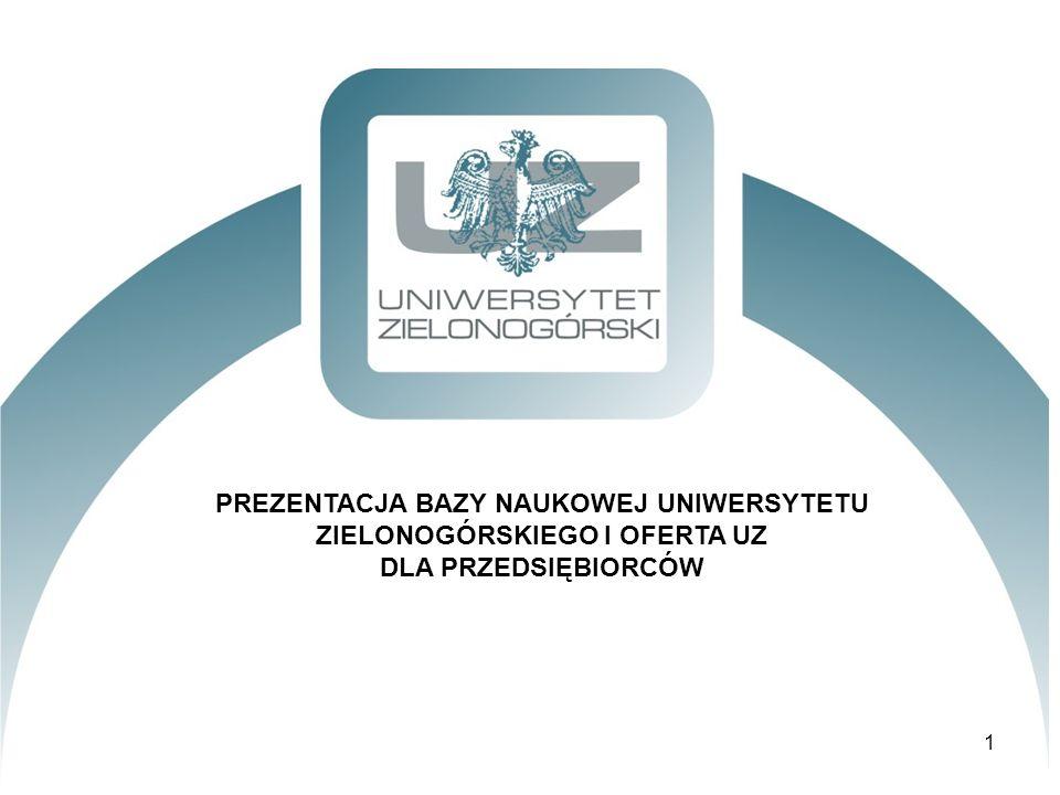 FINANSOWANIE NAUKI UZ krajowe i zagraniczne granty naukowe uzyskane w latach 2007-2011