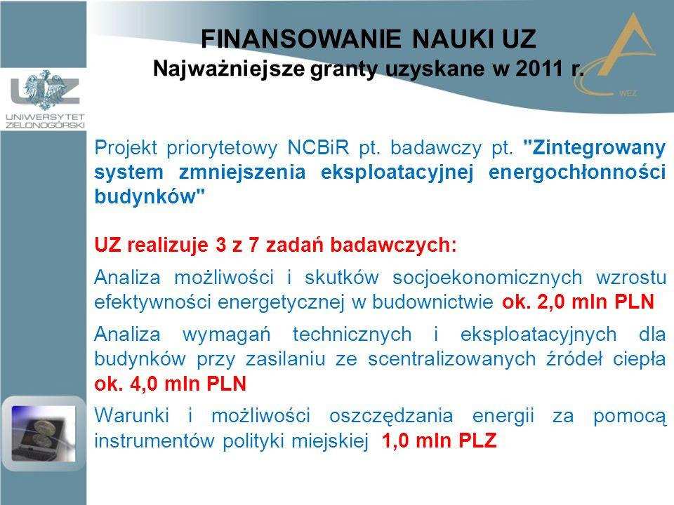 """FINANSOWANIE NAUKI w przyszłości .Np. udział w konsorcjum """"Smart Power Grids - Polska ."""