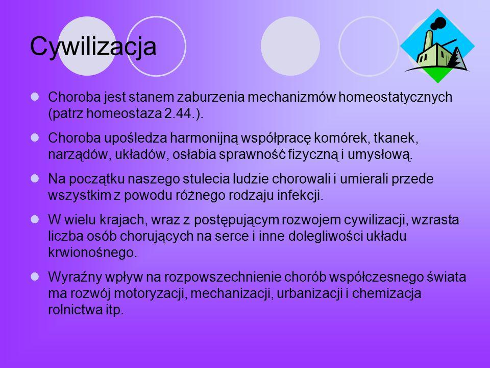 Polacy a profilaktyka chorób cywilizacyjnych Ponad połowa Polaków (53,4%) uważa, że jest zdrowa i nie widzi potrzeby wykonywania badań profilaktycznych, są zbyt zapracowani (16%) nie stać ich na badania (11,5%) nie wiedzą, gdzie i kiedy je wykonać (6,9%).