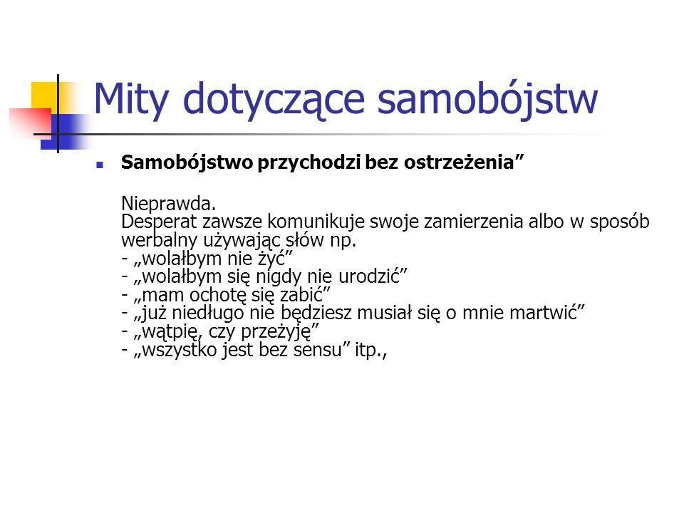 Depresja -największy czynnik ryzyka Wyniki polskich badań epidemiologicznych wskazują na ich rozpowszechnienie w populacji nastolatków, wynoszą 27–54% w zależności od fazy dojrzewania i środowiska (Bomba J., Orwid M., 2008).