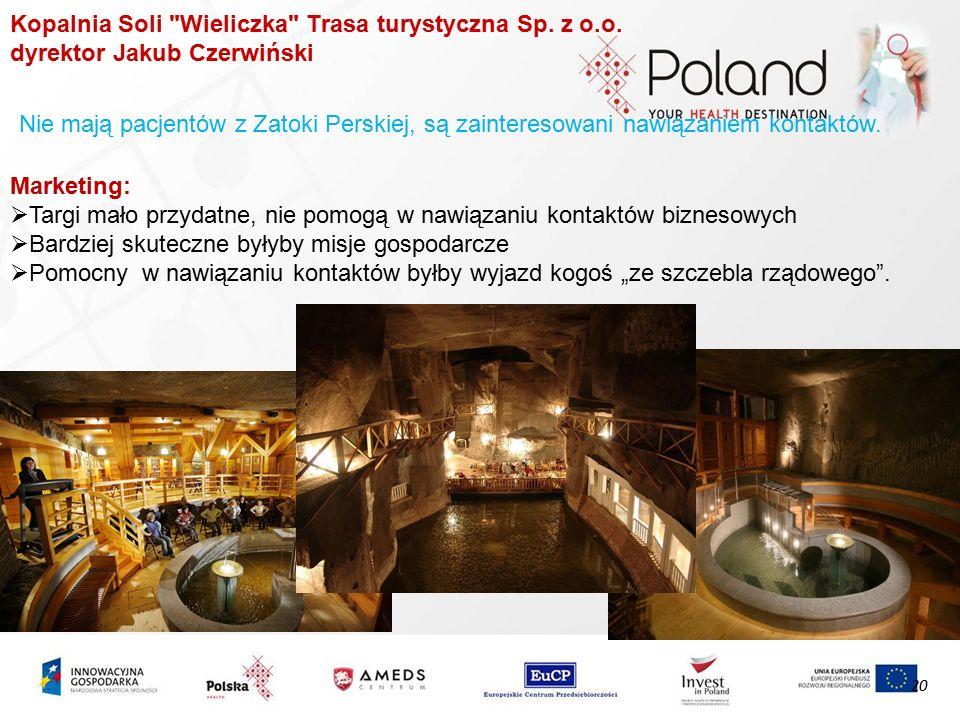 Kopalnia Soli Wieliczka Trasa turystyczna Sp.z o.o.