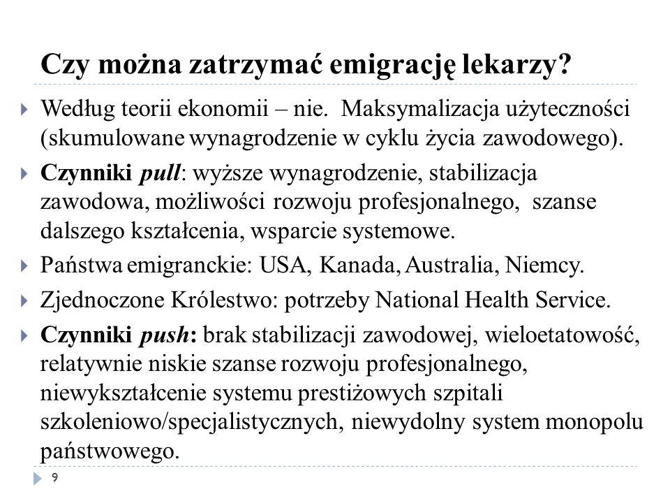 System opieki zdrowotnej – dobro publiczne 1 10  System monopolistyczny jest nieefektywny.