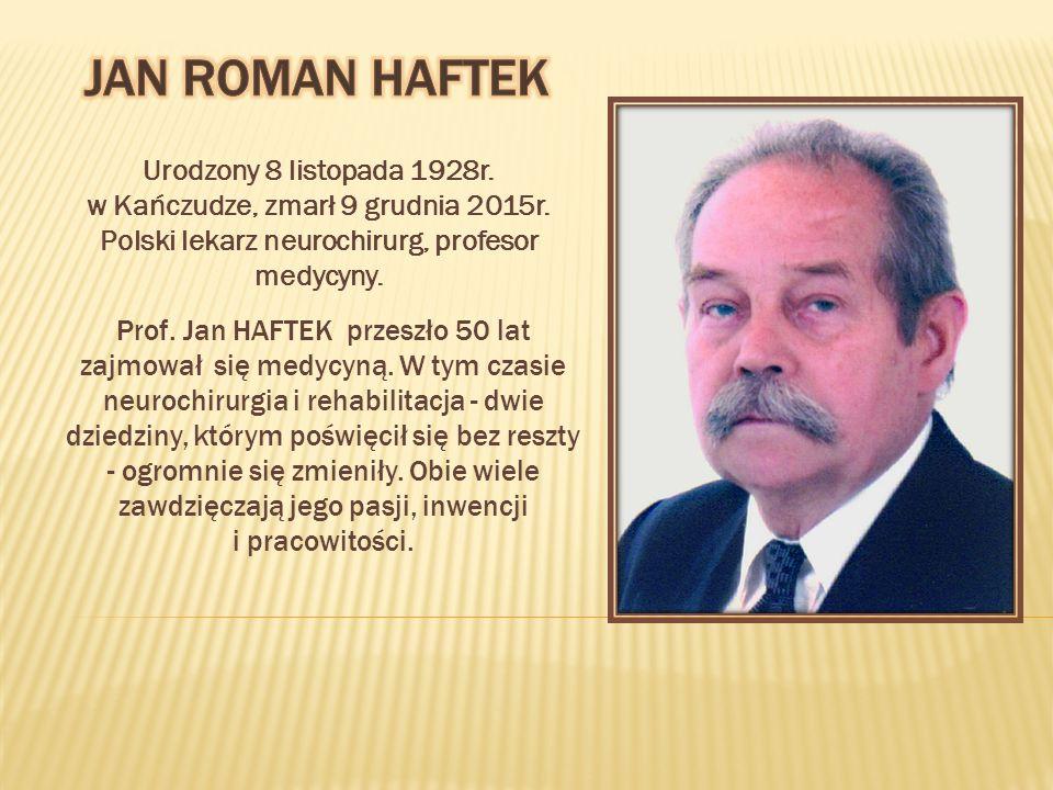 Urodzony 8 listopada 1928r. w Kańczudze, zmarł 9 grudnia 2015r.