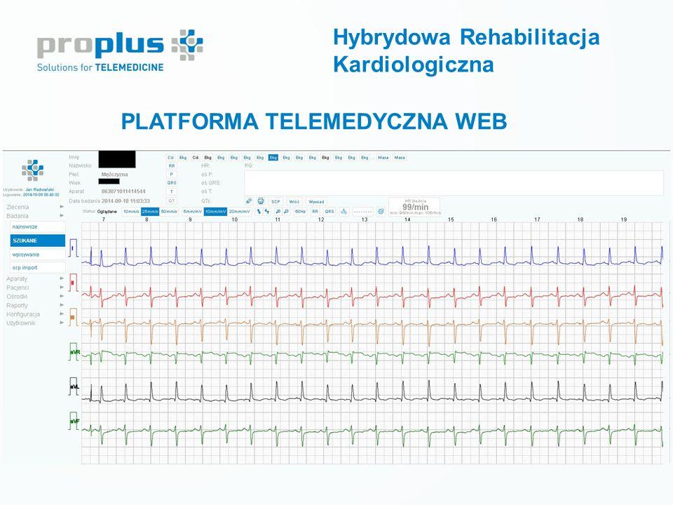 PLATFORMA TELEMEDYCZNA WEB Hybrydowa Rehabilitacja Kardiologiczna