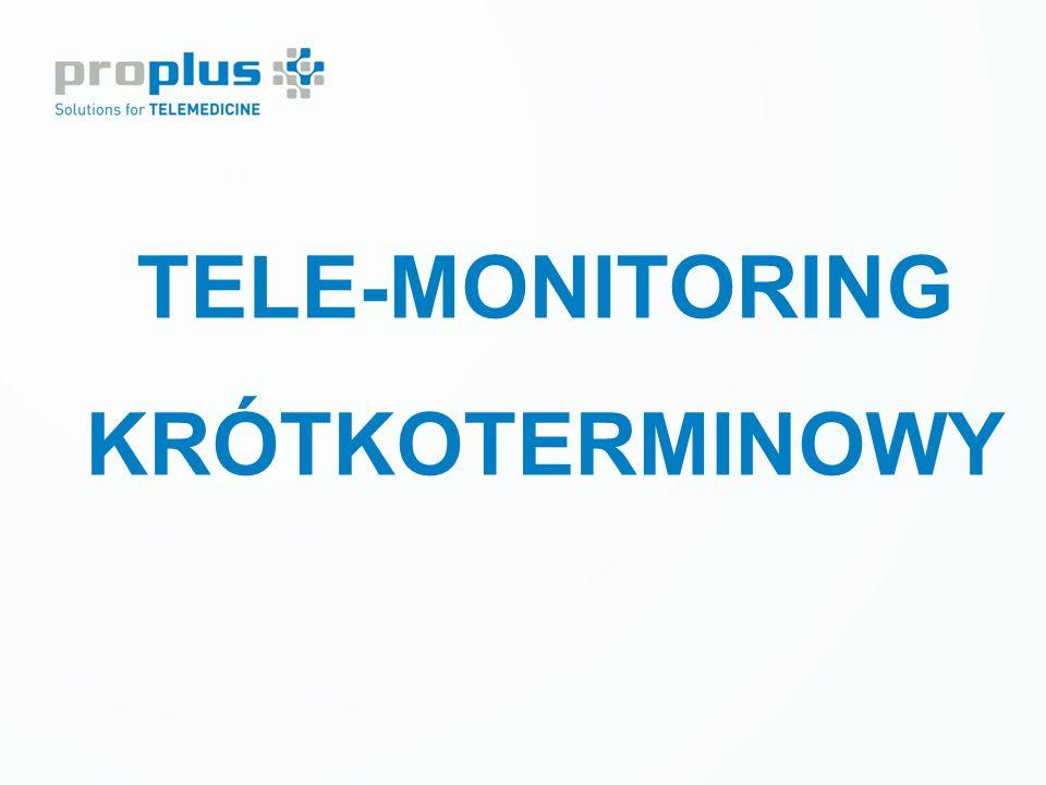 LECZENIE CUKRZYCY Tele-monitoring krótkoterminowy TELE-MONITORING KRÓTKOTERMINOWY