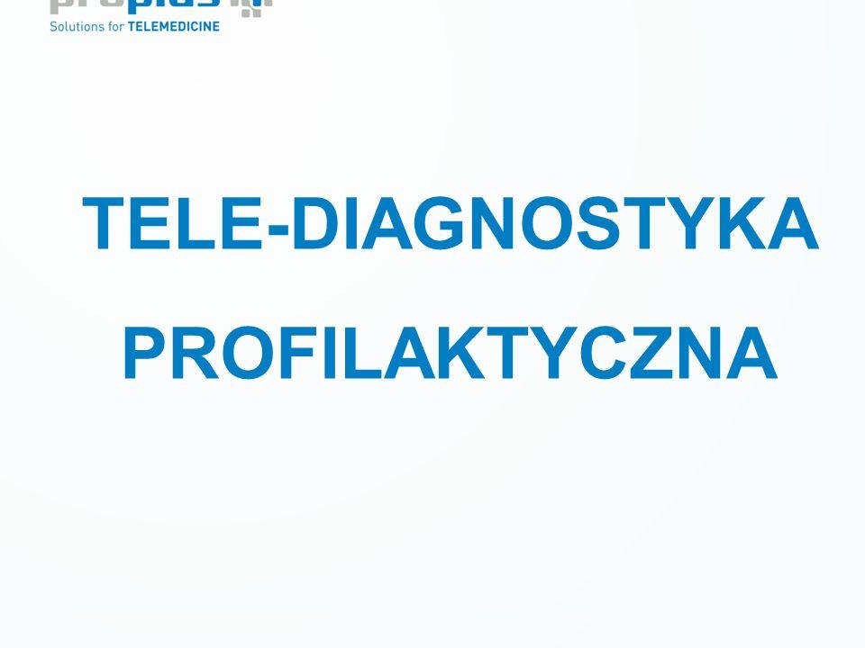 Prewencja wtórna LECZENIE CUKRZYCY Tele-monitoring krótkoterminowy TELE-DIAGNOSTYKA PROFILAKTYCZNA