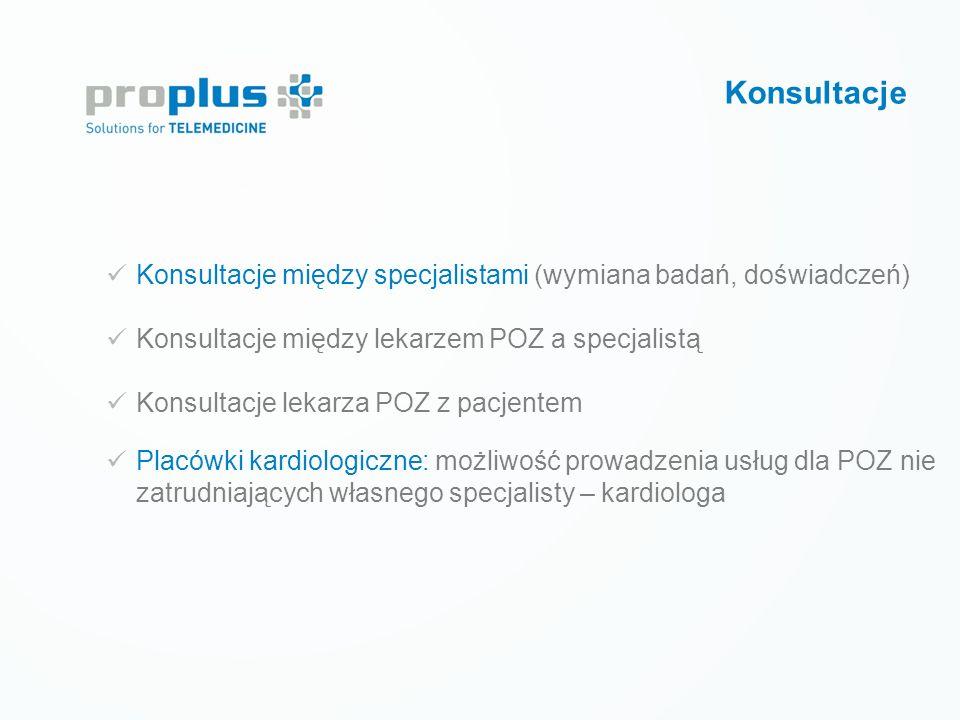 Prewencja wtórna LECZENIE CUKRZYCY Tele-monitoring krótkoterminowy Konsultacje Konsultacje między specjalistami (wymiana badań, doświadczeń) Konsultac