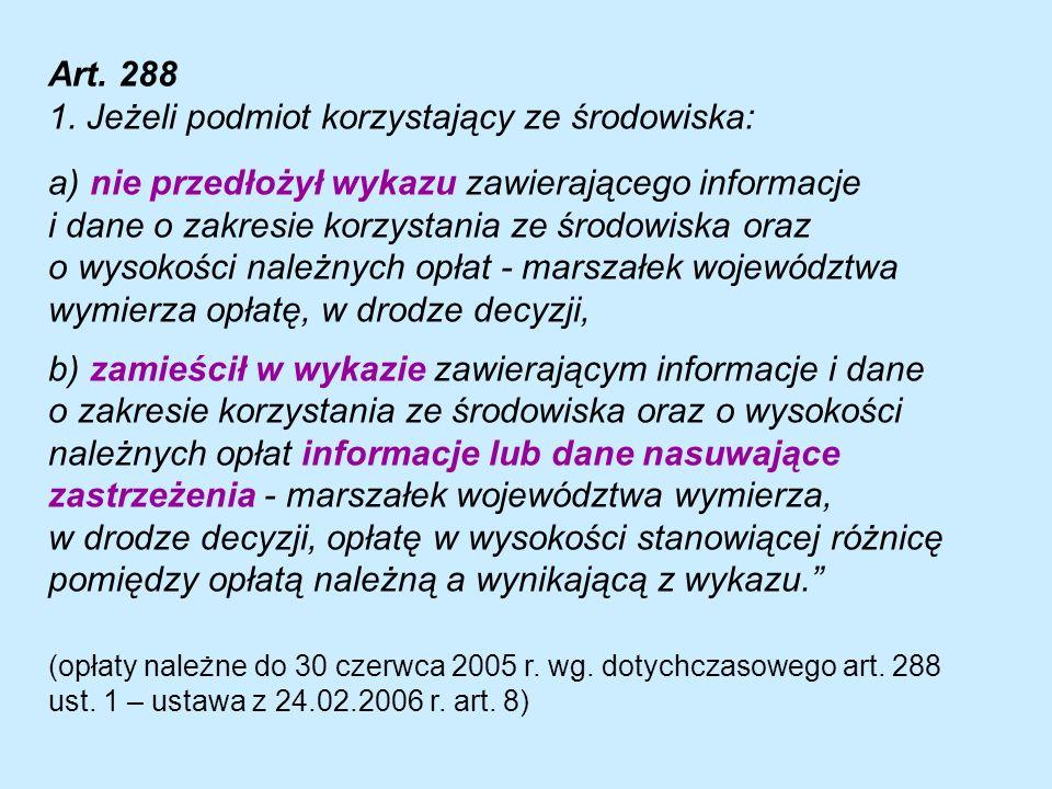Art. 288 1.