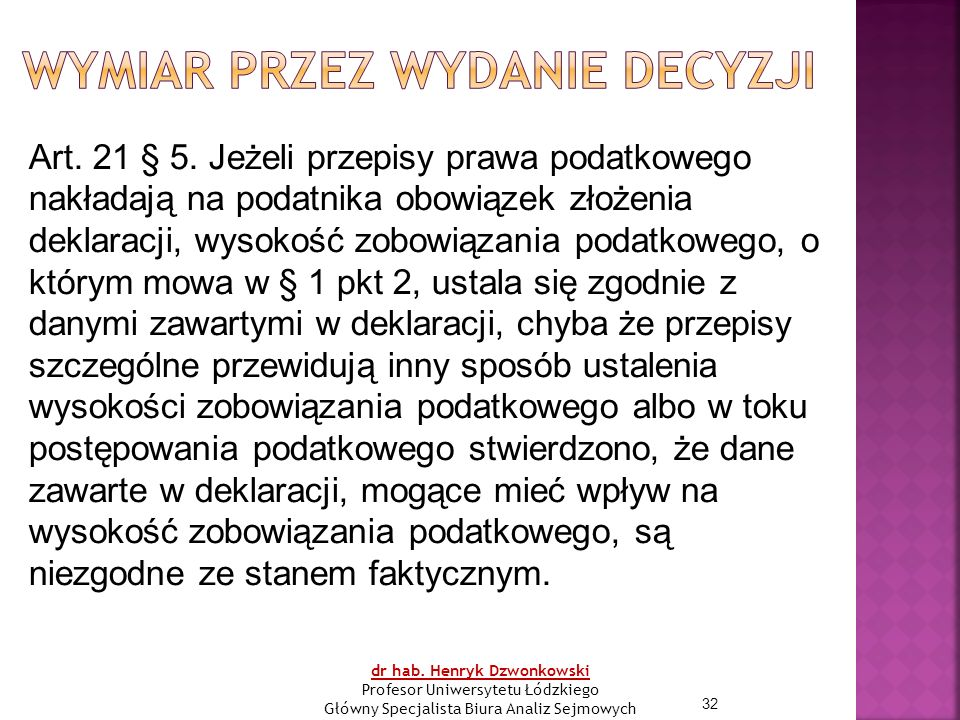 32 Art. 21 § 5.