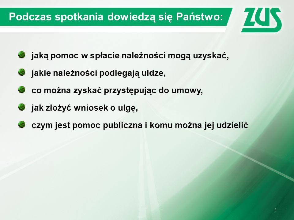 24 Wniosek Kiedy ZUS może nie rozpatrzyć wniosku o udzielenie ulgi.