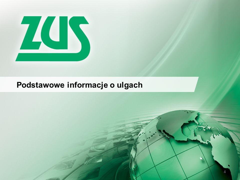 5 Podstawowe informacje - ULGI ZUS może udzielić pomocy w spłacie należności poprzez: Odroczenie terminu płatności składki Rozłożenie należności na raty I II III