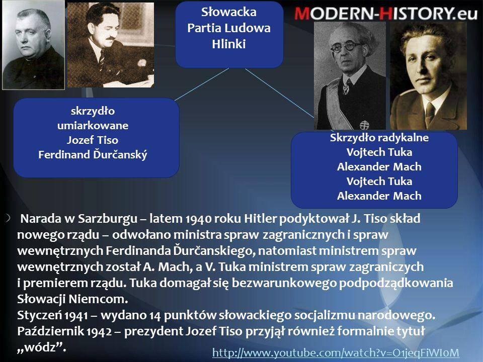 1939 – Niemcy skierowały armię słowackę na terytotium Polski.