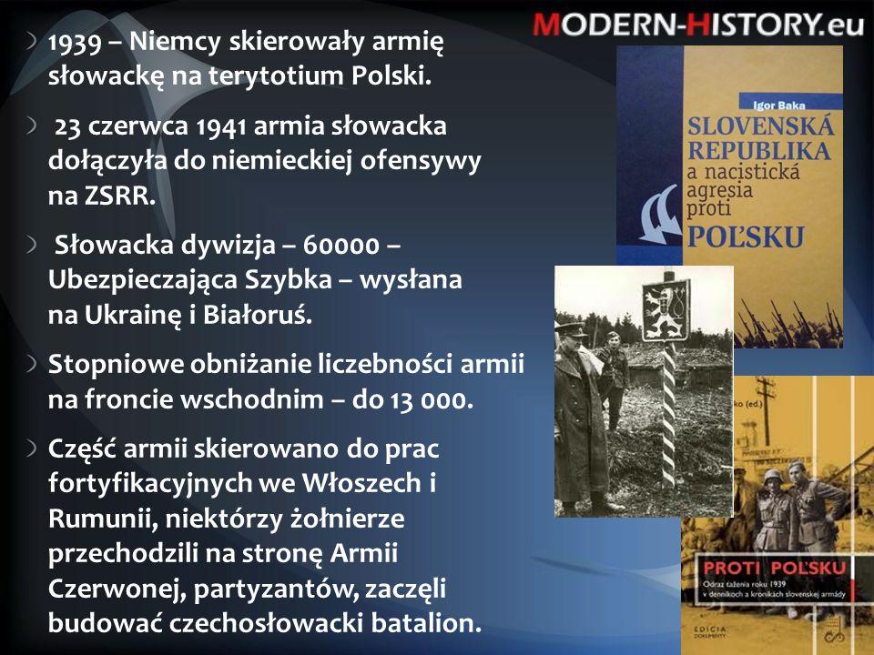 Wyzwalanie Słowacji - 4.ukraiński front – gen. Jeremenko + 1.