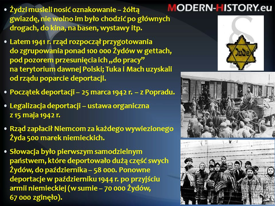 """""""Stolica Święta przyjęła informację o nowych zasmucających rozporządzeniach rządu słowackiego przeciw niearyjczykom z głębokim żalem."""