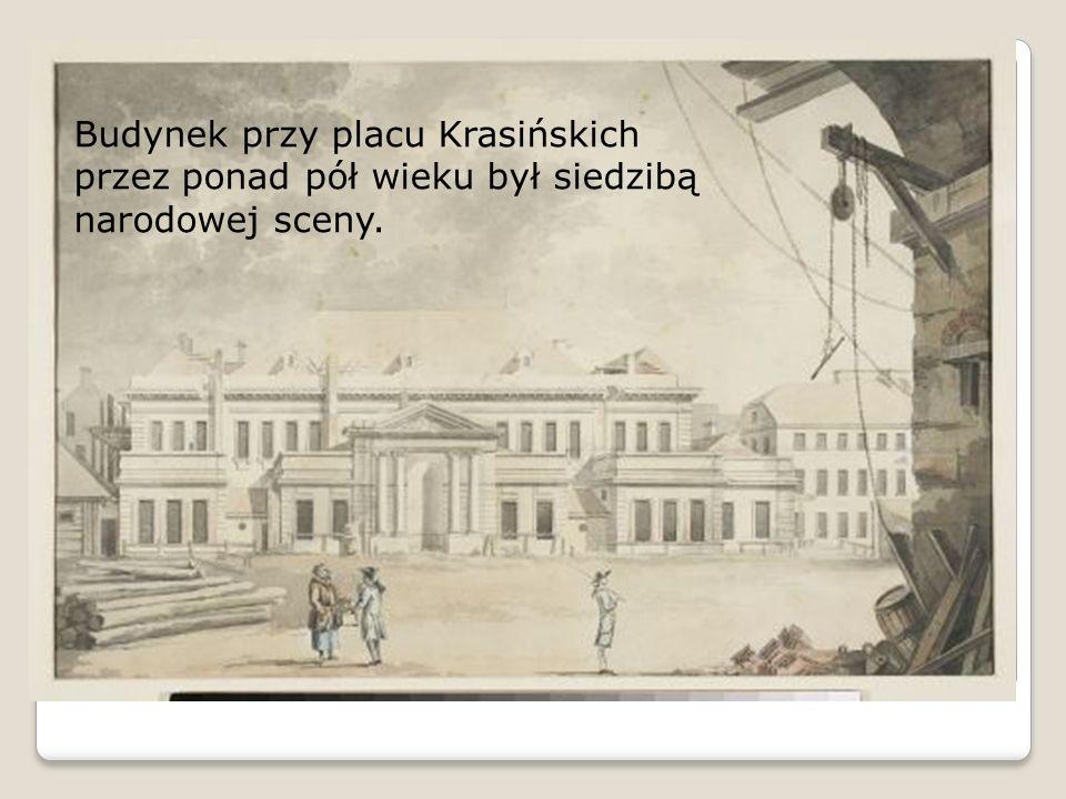 Budynek przy placu Krasińskich przez ponad pół wieku był siedzibą narodowej sceny.