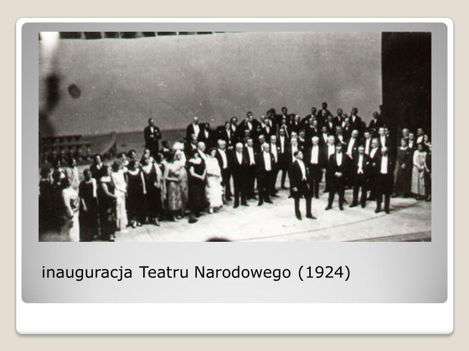 inauguracja Teatru Narodowego (1924)