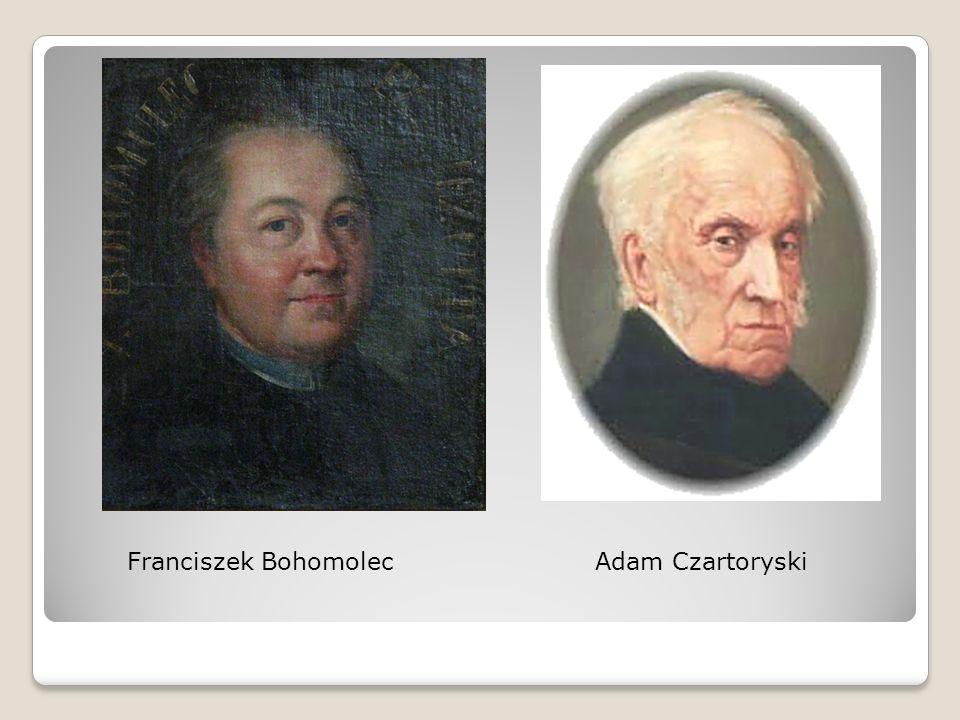 Franciszek BohomolecAdam Czartoryski