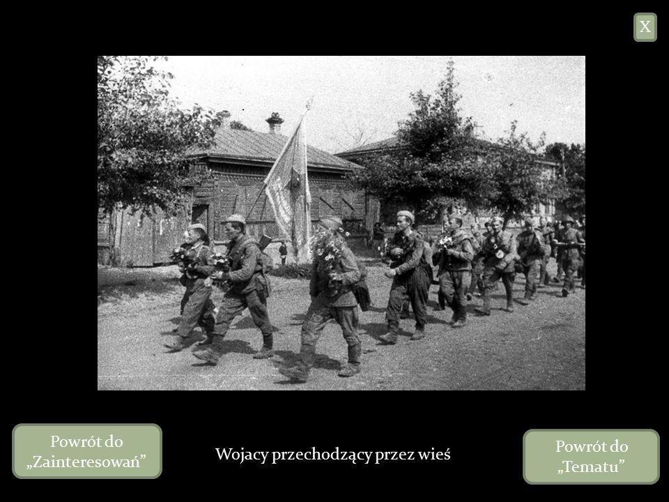 """Żołnierze w okopach X Powrót do """"Zainteresowań Powrót do """"Tematu"""
