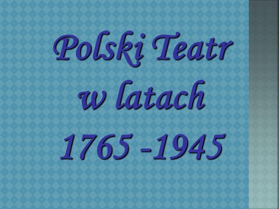 Za czasów króla Stanisława Augusta Poniatowskiego w 1765 r.