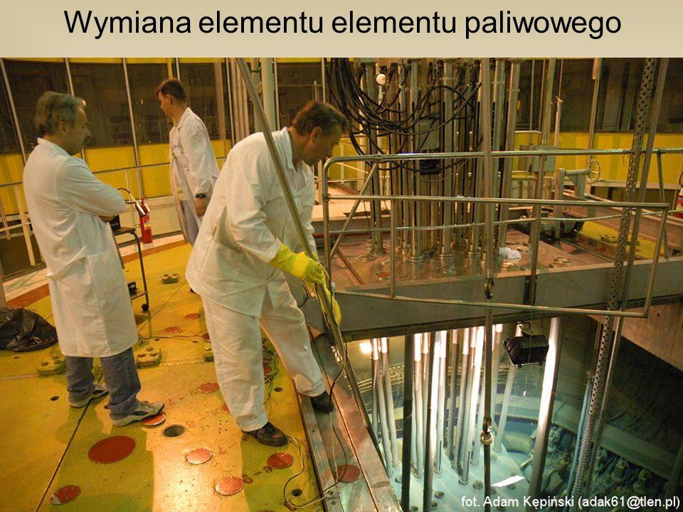 Wymiana elementu elementu paliwowego