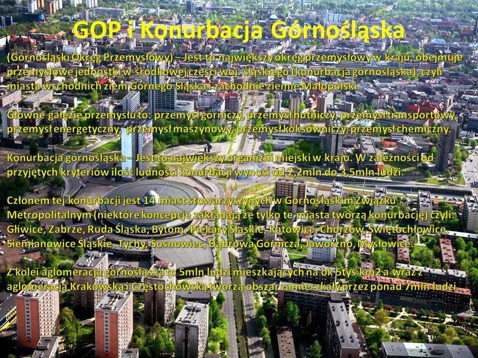 GOP i Konurbacja Górnośląska